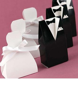 la novia y el novio Cajas de regalos con Cintas