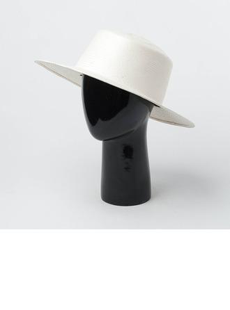 Casais ' Atraente/Mais quente Rattan de palha Chapéu de palha/Chapéu panamá/Kentucky Derby Bonés