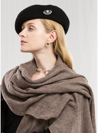 Solid Color Neck/Oversized/fashion Wool Scarf