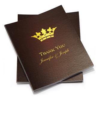 Personlig klassisk stil Tackkort (Sats om 50)