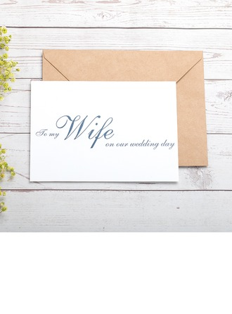 Bride Lahjat - Classic paperi Hääpäiväkortti