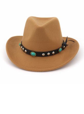 Unisexe Glamour/Style Classique/Accrocheur Coton Chapeau Fedora/Chapeau de cowboy