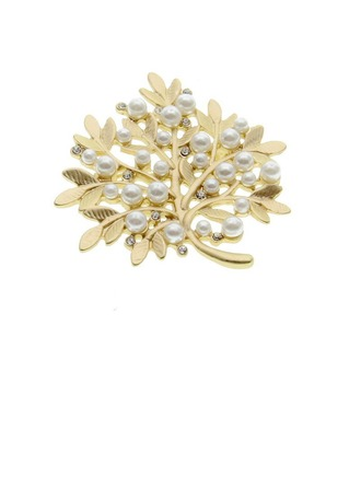 vintage stil Legering/Imitert Perle med Perle Damene ' Brosje