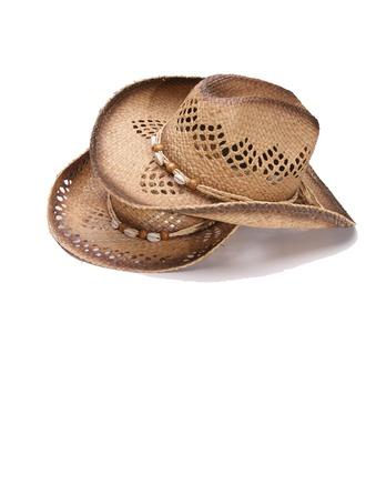 Dos homens Mais quente Palha Salgada Chapéu de palha/Chapéu de caubói