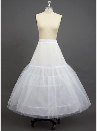Kvinner Verrekening/Polyester Enkellange 3 Niveaus Onderrokken