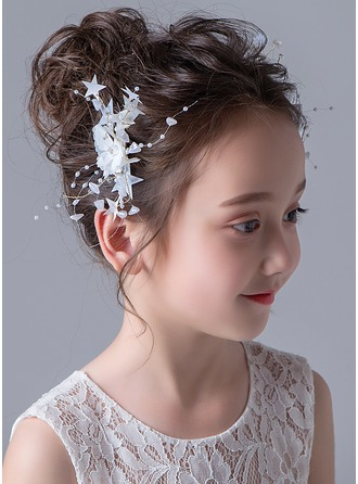 Alloy With Flower Hairpins (Set of 2)