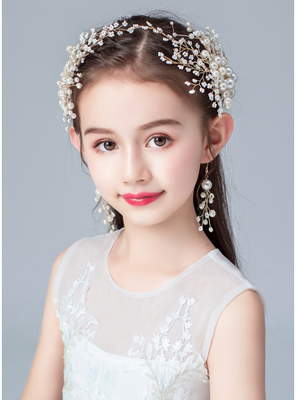 Alloy/Imitation Pearls/Crystal Headbands