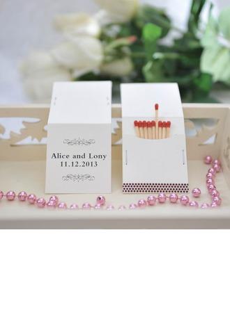 Personalizado Modelo Clásico papel tarjeta duro Caja de Cerillos Personalizada