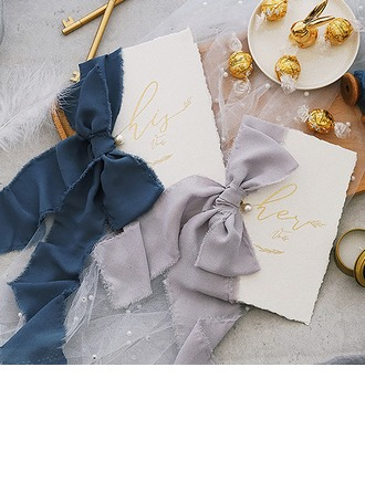 Bride Gaver - Fascinerende Pap Papir Vow Card (Sæt af 2)