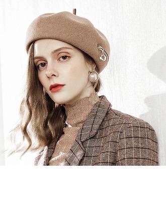 Señoras' Glamorosa/Elegante Madera Boina Sombrero