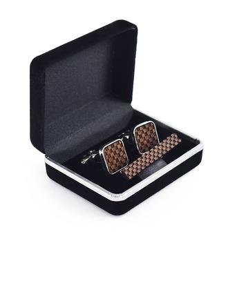 Stile classico stile vintage Legno Gemelli Cravatta