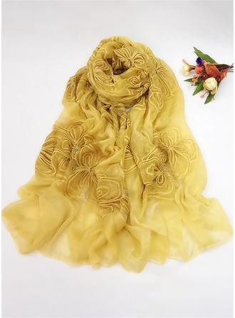 Blumen Stolen Schal