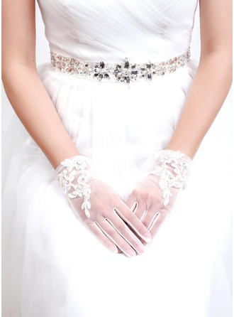 Tyl/Lace Brude Handsker