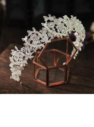 Charmosa Cristal/Strass/Liga Diademas (Vendido em uma única peça)