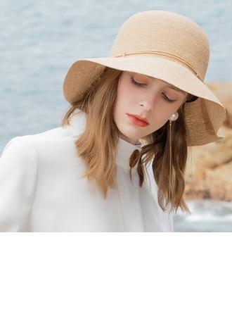Dames Style Classique/Simple/Jolie/Fantaisie Raphia paille Chapeaux de plage / soleil