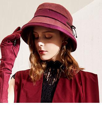 Ladies' Glamourous/Classic/Elegant Polyester Floppy Hats