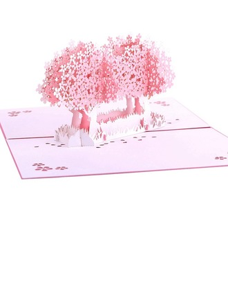 Kunststil Side Fold Geburtstagskarten/Wartekarten/Dankeskarten
