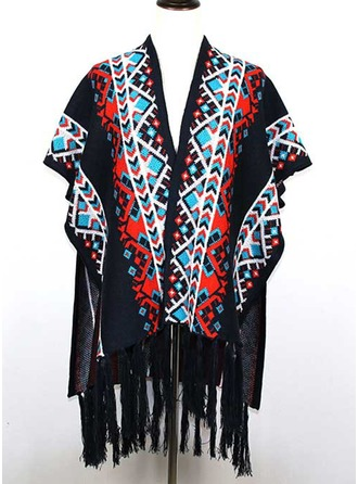 Floreale Scialle Poncho