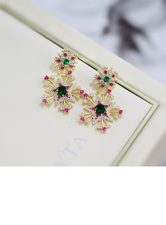 Ladies' Vintage Alloy Earrings For Bride/For Bridesmaid/For Mother/For Friends/For Couple