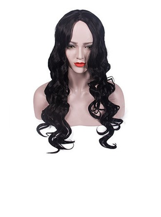 Body Wavy Synthetic Hair Synthetic Wigs 300g