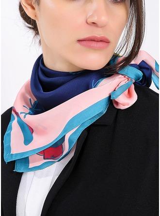 Ретро / год сбора винограда облегченный/мода Шелковые Квадратный шарф