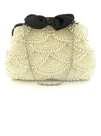 Elegante Perla Bolso Claqué