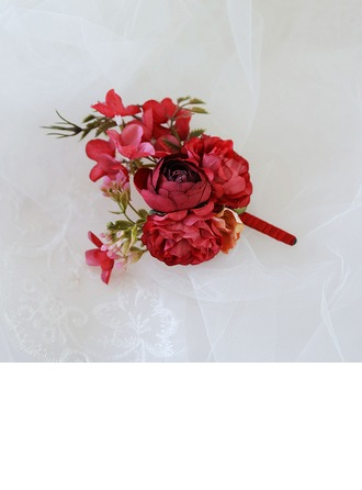 Fascinating Cloth Boutonniere (Sold in a single piece) -
