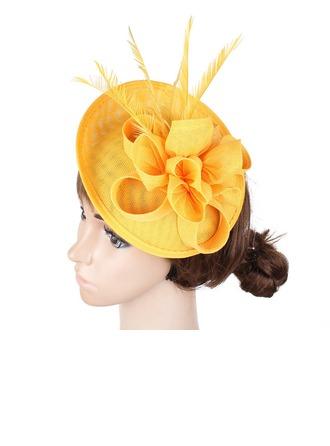 Bayanlar El yapımı/Hottest Patiska Ile İpek Çiçek Fascinators/Kentucky Derby Şapkaları