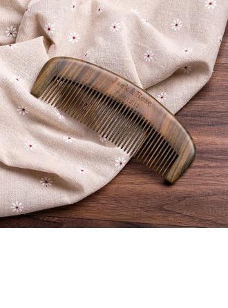 Cadeaux De Mariée - Personnalisé Style Classique En Bois Peigne à cheveux en bois
