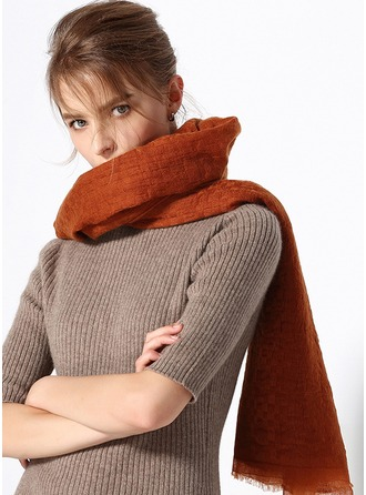 Solid Color/Retro/Vintage Oversized/simple/Cold weather Cashmere Scarf
