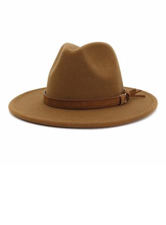 De los hombres Glamorosa/Estilo clásico/Llamativo Madera Sombrero de fieltro/Sombrero de Panamá