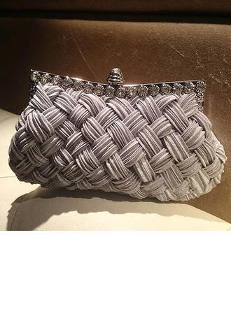 Charmen Kristall/Strass Grepp/Handledsväskor/Mode handväskor