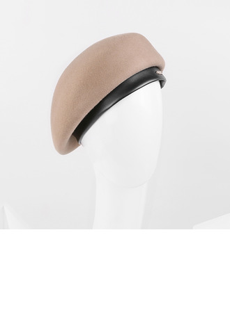 Dames Glamour/Élégante/Jolie Coton Béret Chapeau