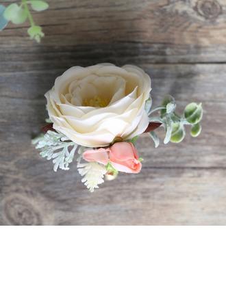 Lovely Redondo Cetim Alfinete de lapela (Vendido em uma única peça) - Alfinete de lapela