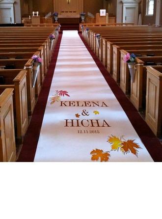 Personalizado Hoja de arce Imprimir Cloth Corredores del pasillo