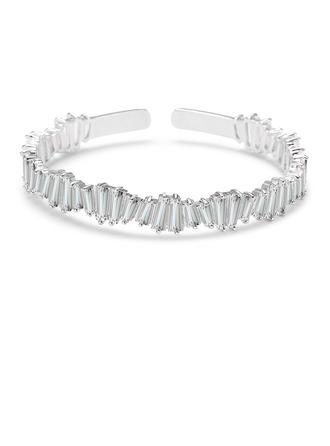Damen Funken Kupfer/Zirkonia Zirkonia Armbänder Ihr
