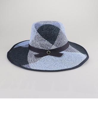Signore Bella/Semplice Poliestere Cappello floscio/Cappello di paglia/Beach / Sun Cappelli