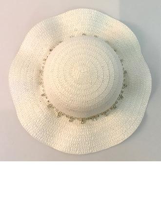 Kinderbed Heerlijk Rotan Straw Slappe Hat/Strohoed/Theepartij hoeden