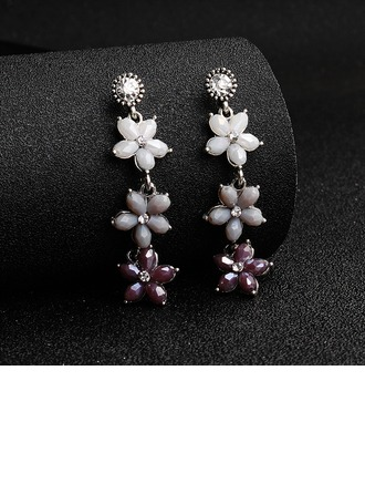Ladies' Elegant Alloy Earrings For Bride/For Bridesmaid/For Mother