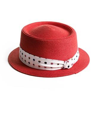 Ladies' Classic/Elegant Raffia Straw Straw Hats/Beach/Sun Hats