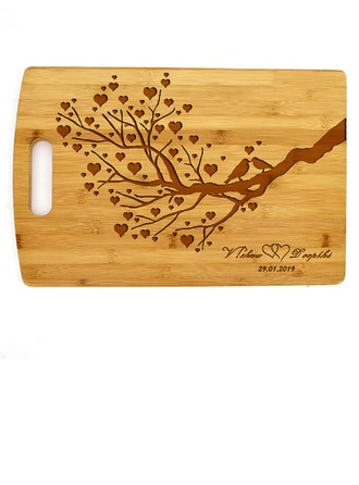 Groom Gifts - Personalized Elegant Wooden Cutting Board