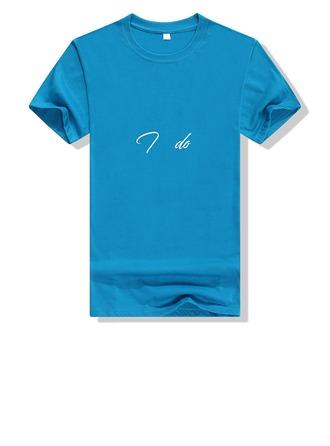 Cadeaux De Mariée - Personnalisé Style Classique Coton T-shirt