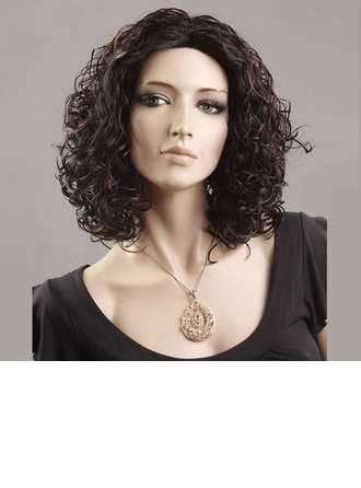 Loose Wavy Synthetic Hair Capless Wigs 130g