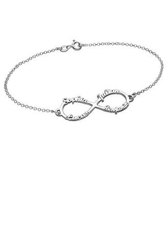 gepersonaliseerde Schakelketting Naam armbanden - Kerstcadeaus Voor Haar