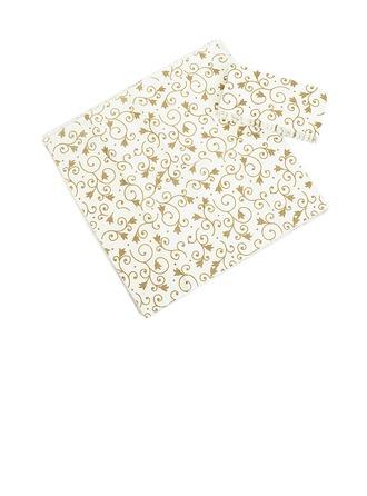 Patrón de flores Servilletas de Cena
