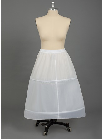 Women Nylon 1 Tiers PLUS SIZE Petticoats