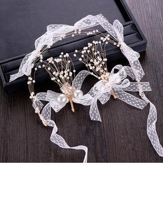 vintage stil Legering/Rhinestones/Imitert Perle med Rhinestone/Imitert Perle Damene ' Smykker Sett