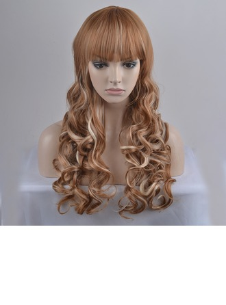 Loose Wavy Synthetic Hair Capless Wigs 300g