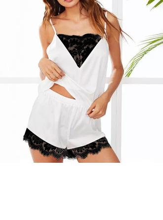 Классический Спандекс Cami Sets Свадебное белье/Cami Sets