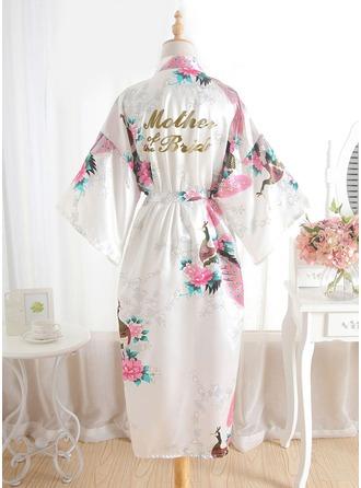 Nevěsta Hedvábí Květinové šaty